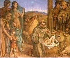 Franciscus kerststal
